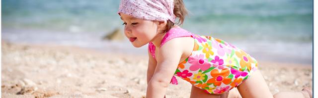 Чистый пляж для детей