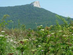 Гора Кок-Таш, небесный камень.